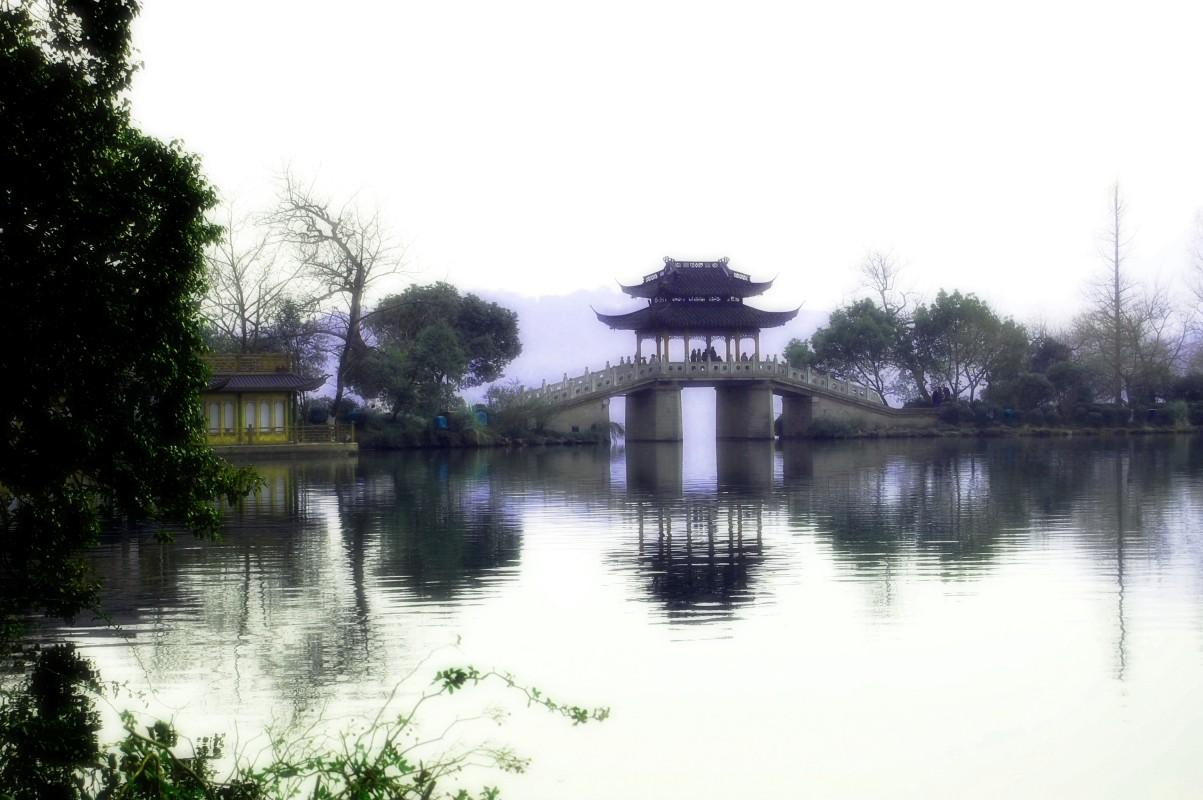 绍兴风景水墨图片